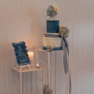 Intimate and Stylish Wedding