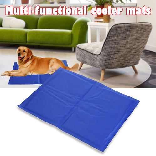 Pet Dog Cooling Mat Ice Pad Multi-functional Cooler Mats Gel Pad Dog Cat Cage