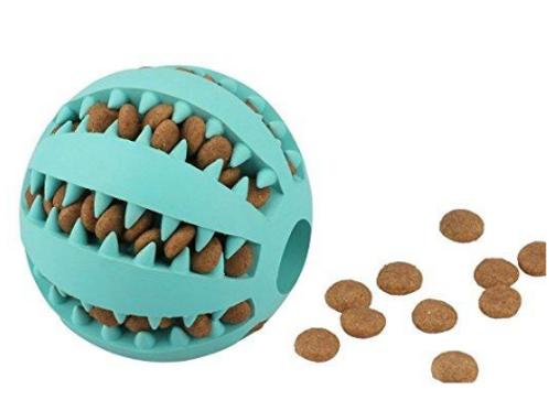 Dog Interactive IQ Treat Rubber Ball
