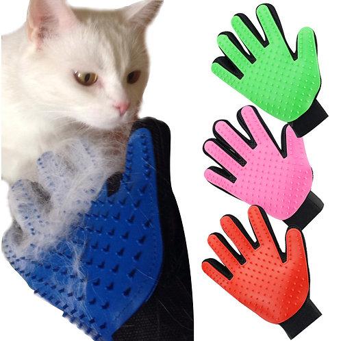 Deshedding Brush Glove for Animal Cat Supplies Pet Gloves Hair Comb Five