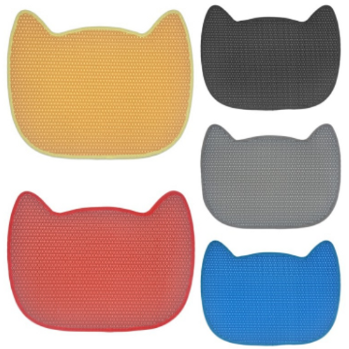 Cat Litter Trapper Mats With Waterproof Bottom Layer