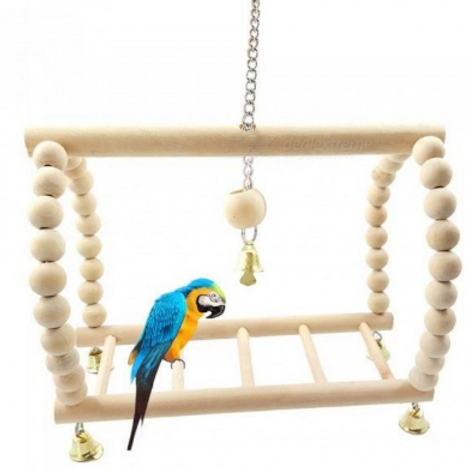 Bird Suspension Bridge Toy