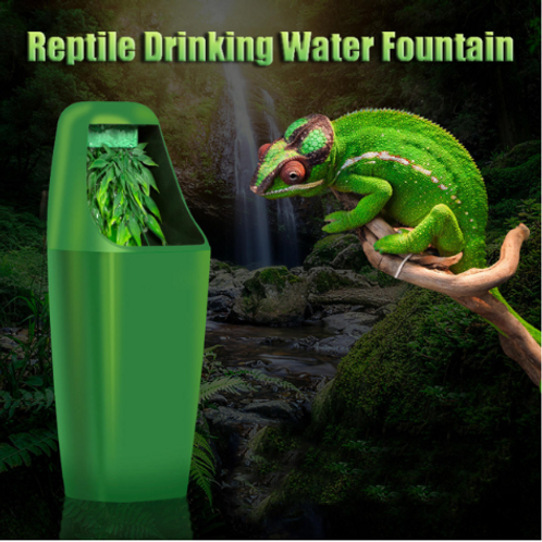 Reptile Drinking Water Filter Fountain