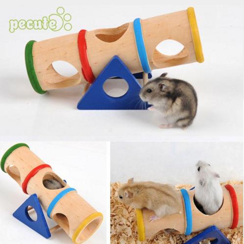 Hamster Rat Mice Seesaw Tunnel