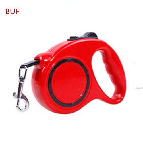 Pet Products Polyester Dog Accessory Automatic Retractable Traction Leash