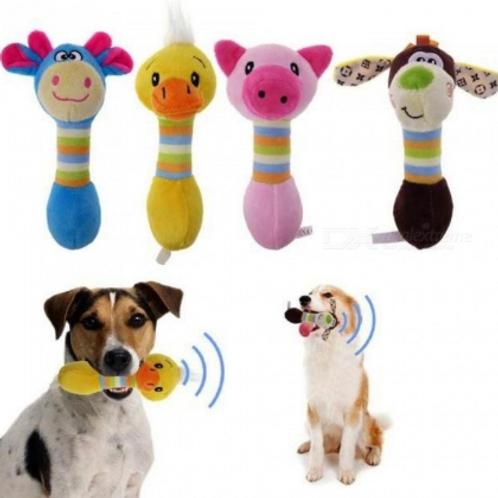 Dog Squeaker Animal Chew Toys