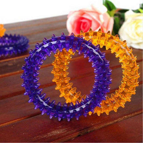 Dog Multicolor Biting Ring Chew Toys