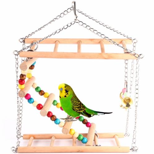 Bird Exercise Climbing Hanging Ladder