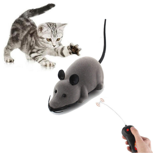 Cat And Dog Electronic Remote Control Mouse Toy