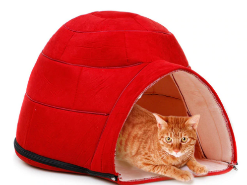 Cats And Dogs Soft Fabric Yurt House