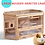 Thumbnail: 3-Tier Wooden Hamster Cage House