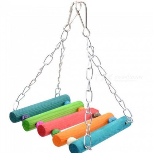 Bird Hanging Swing Chew Toy