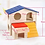 Thumbnail: Hamster Wooden Two-Layer Pet House