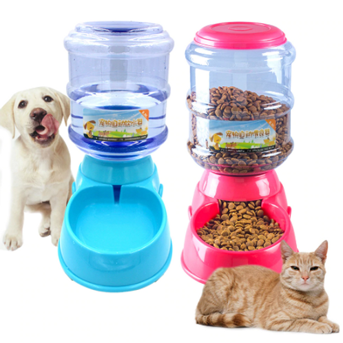 3.5L Automatic Food And Water Dispenser For Dogs And Cats