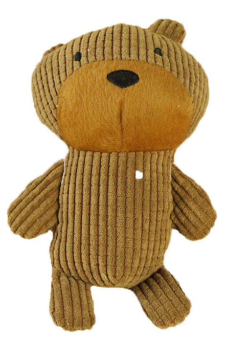 Dog Plush Bear Squeaky Toy