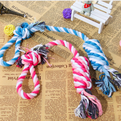 Dog Cotton Rope Knot Chew Toy