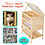 Thumbnail: Wooden 3 Tiers Hamster House