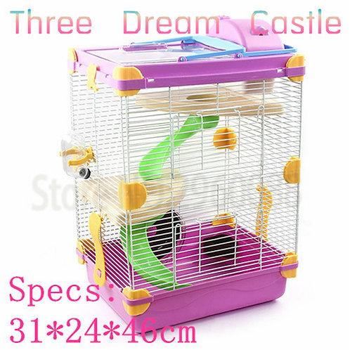 Multicolor Hamster Cage