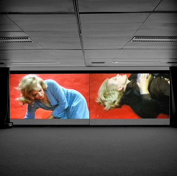 Eli Cortiñas, Dial M for Mother, 2008, 2-channel video