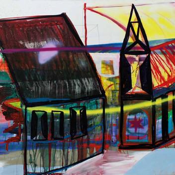 Matthias Dornfeld, complex, 2011, 120x200cm