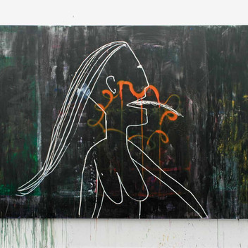 Matthias Dornfeld, untitled (Luci), 2011, 200x300 cm
