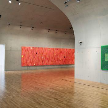 Ding Yi, Installation View, 2015, Long Museum, Shanghai