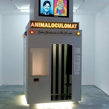 Klara Hobza, Animaloculomataurus, 2018, installation view