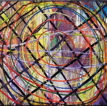 Matthias Dornfeld, untitled, 2014, acrylic on canvas, 75x75cm