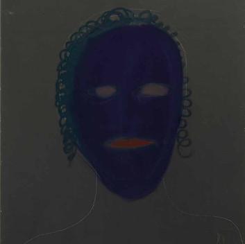 Matthias Dornfeld, untitled (portrait), 2012, 110x80cm