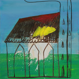 Matthias Dornfeld, Churchi (out of the Church series), 2019, oil on canvas, 170x110cm  EUR 10'000 CHF 11'000