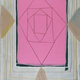 Matthias Dornfeld, Untitled  (Friederike), 2019, acrylic on canvas, 170x110cm  EUR 9'800 CHF 10'800