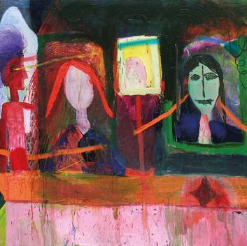 Matthias Dornfeld, untitled (last supper), 2010, 200x300cm