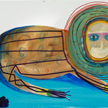 Matthias Dornfeld, Untitled (out of the lion series), 2019, oil on canvas, 100x150cm  EUR 8'500 CHF 9'700