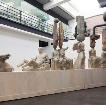 Xu Zhen, from the Eternity series, 2013, 3.5x13x1.5m, installation view, UCCA, Beijing