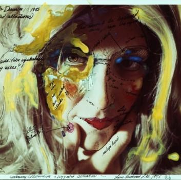 Lynn Hershman Leeson, Roberta's Construction Chart #2,1975, photography, digital pigment print, 63.8x50cm, 25x20in
