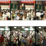 Xu Zhen, Shouting, 1998, video, 4min
