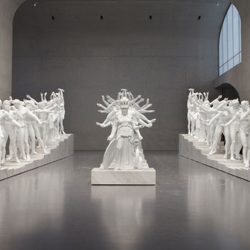 Xu Zhen, Corporate, 2014,  installation view, Kunsthaus Graz