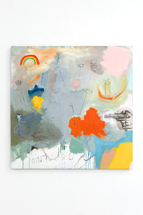Untitled, 2019, oil on canvas, 100x100cm EUR 3'300