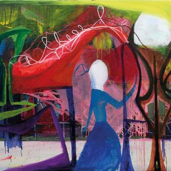 Matthias Dornfeld, untitled (Szene), 2009, 160x200cm