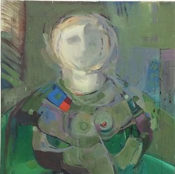 Lynn Hershman Leeson, untitled, 1958, acrylic on canvas, 50.8x70cm, 20x24in