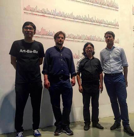 Xu Zhen, Patrick Waldburger, Ding Yi, Andries Diener Powerstation of Art, Shanghai August 2017