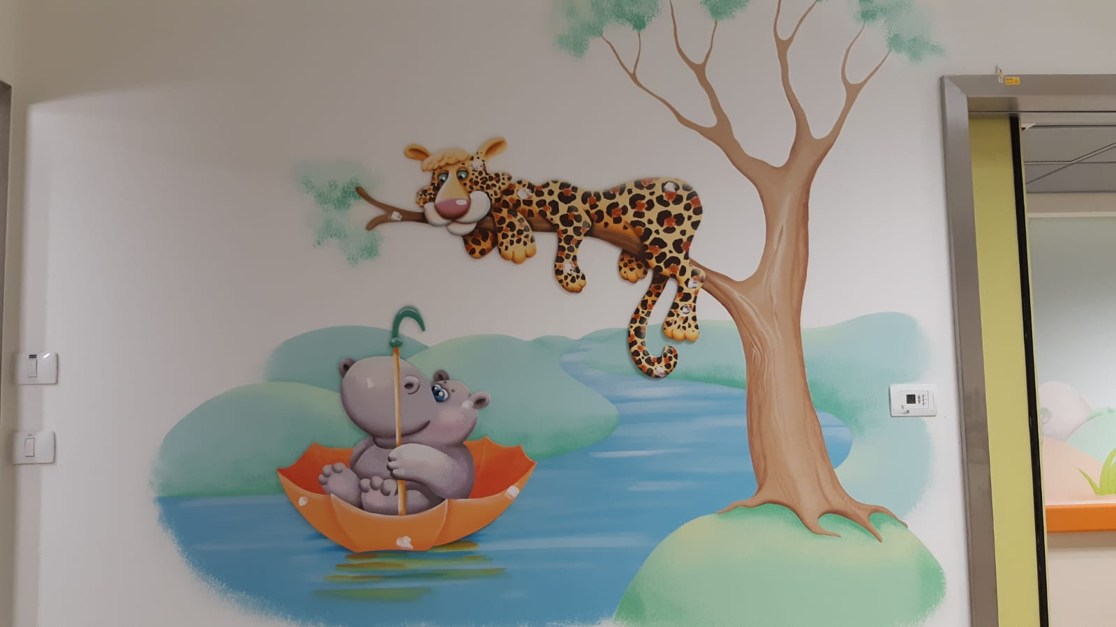 Theming for Pediatric Department