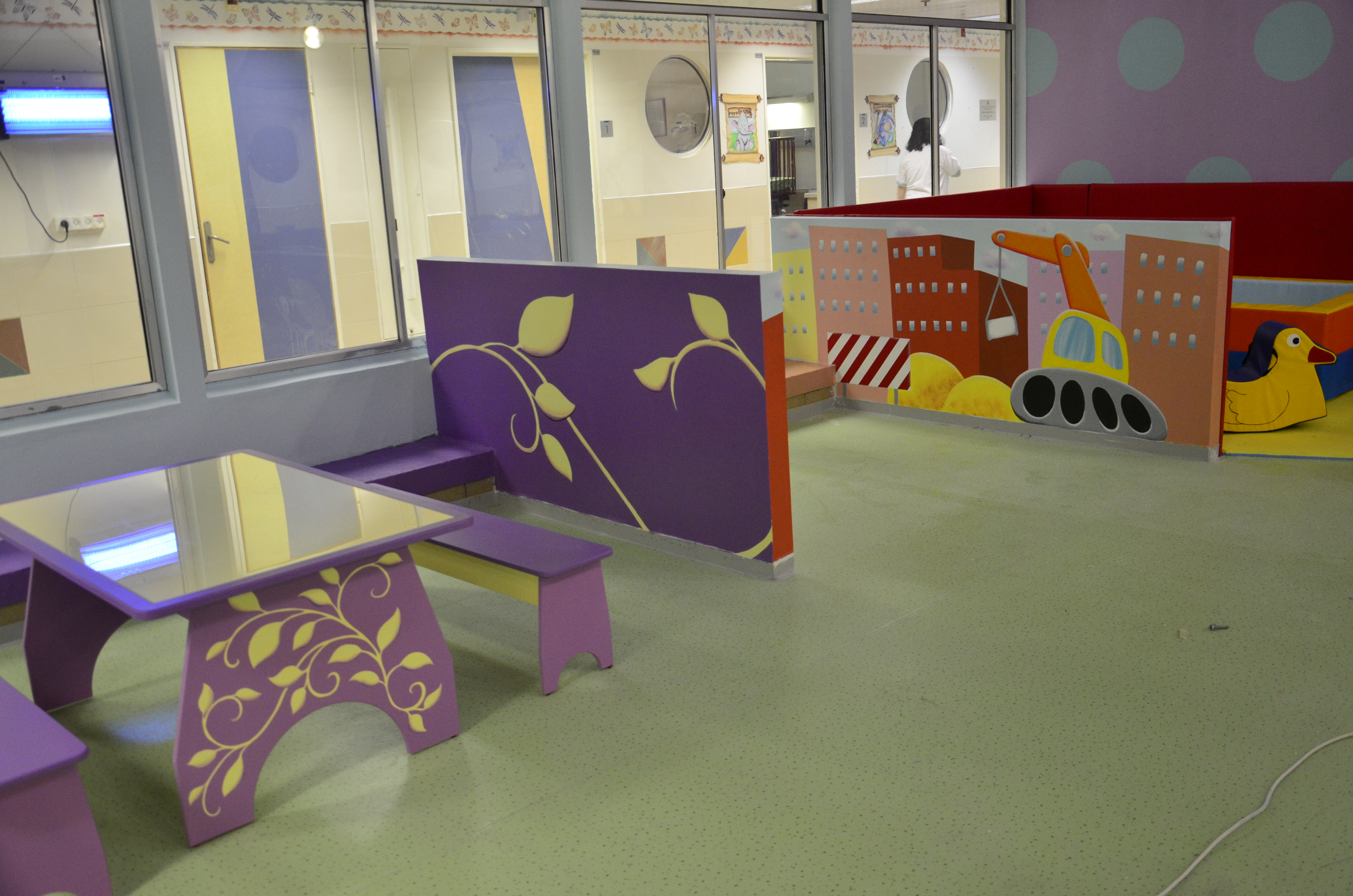 """Assaf Harofeh"" Hospital kids area"