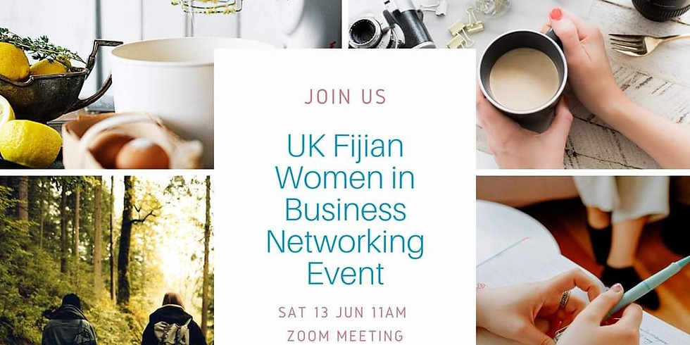 UK Fijian Women in Business - Networking Event