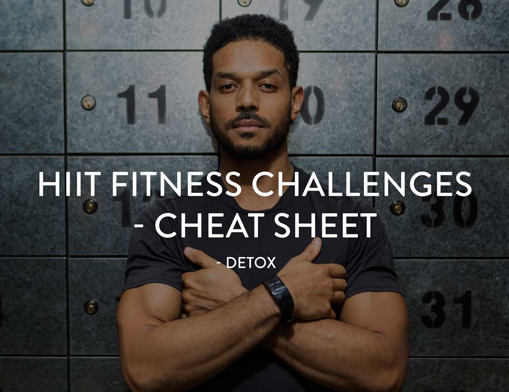 HIIT cheat sheet