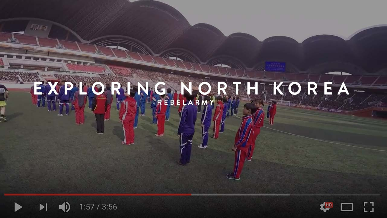exploring north korea