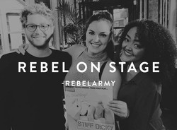 Rebel on stage