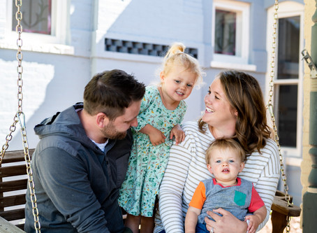 Porch Series: The Wood Family