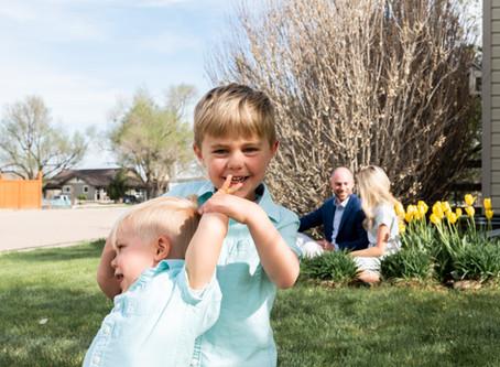 Porch Series: The Fischer Family