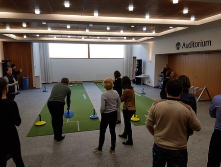 Teppich-Curling Indoor